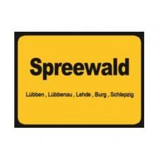 Magnet Spreewald (Ortsschild Spreewald)