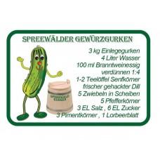 Magnet Spreewald (Gurkenrezept)