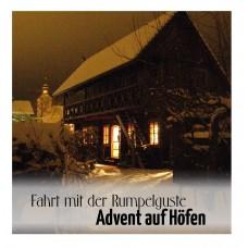 """Sonderfahrt Rumpelguste  """"Advent auf den Höfen"""" - Ticket Erwachsener"""