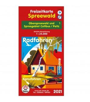 Freizeitkarte Burg (Spreewald) 2021