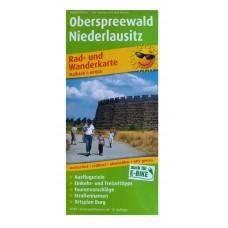 Rad- und Wanderkarte Oberspreewald Niederlausitz 1 : 60.000