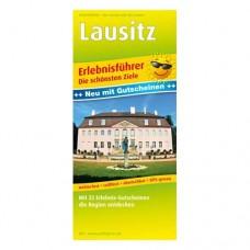 Freizeitkarte Erlebnisführer Lausitz